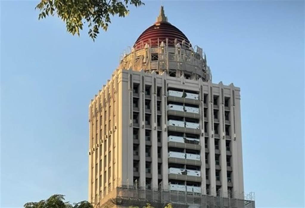 受惠南科房市需求旺,上曜簽約戶數年增率達80%,圖為總銷13.5億的「梅菲爾」。(圖/上曜建設提供)