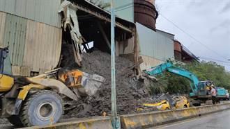 桃園龜山砂石廠側牆倒塌活埋計程車司機 廠長遭聲押