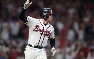 MLB》勇士弗里曼轟最強終結者 退釀酒人闖國聯冠軍賽