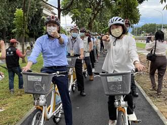 嘉義市25公里環市自行車道啟用 媲美韓劇景色