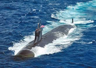 美國核潛艇南海撞擊地點曝光?央視一張衛星圖揭密幕後涵義