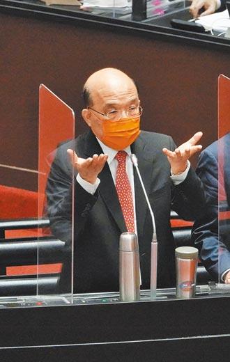 蘇貞昌挨告散布假訊息 迄今10個月仍未被約談