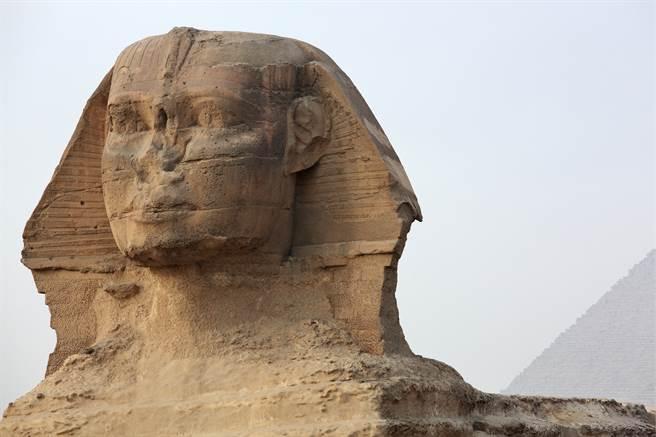 英格蘭一戶人家近日拍賣一對人面獅身石雕,起初以為是複製品,沒想到經過鑑定後,才得知此為古文物。(圖/達志影像)