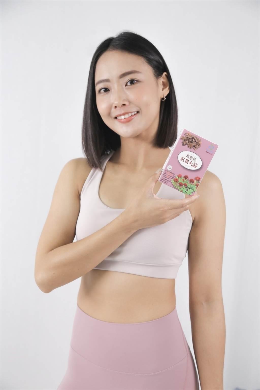 健美小姐Mia推薦超級站高單位紅景天滋氧膠囊,增強體力,滋補元氣。/超級站提供