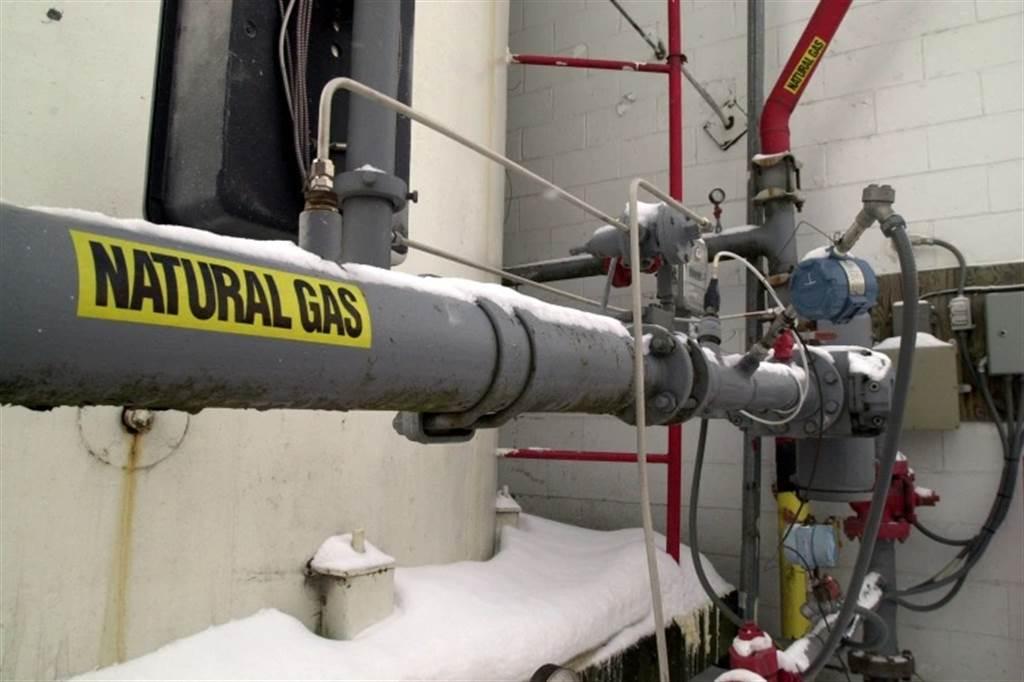 美國有近5成家戶,是依賴天然氣(甲烷)來供應暖氣。(圖/美聯社)