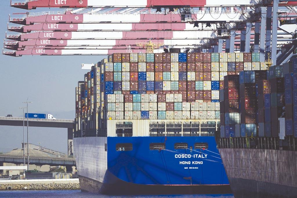 穆迪警告全球供應鏈危機未來仍舊「烏雲罩頂」。圖/美聯社