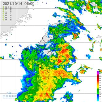 雨彈又來了!氣象局發布四地區豪大雨特報