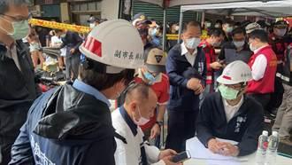 城中城社區大火 陳其邁下令逐戶清查、啟動大量救護