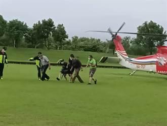 13人受困宜蘭石門溪4天 空勤直升機吊掛全數獲救