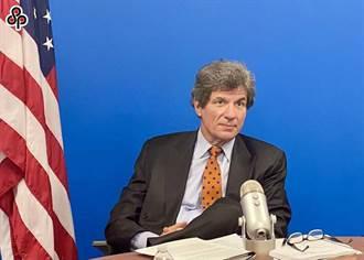 陸駐美國使館 強烈譴責美國務院高官見蕭美琴