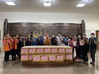 台中慈明高中舉行「敬老恤貧」活動 落實教育即生活之目的
