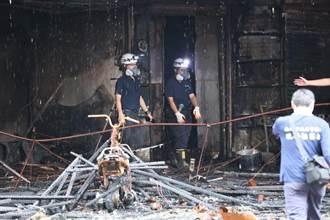 高雄城中城大火14死37傷 警帶回4人身分曝光