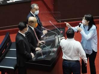 蘇貞昌與鄭麗文爆爭執藍營要求道歉 行政院:撥亂反正、為所當為