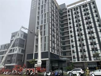 高雄城中城大火恐逾30死  台南市消防局加強高樓搶救演練