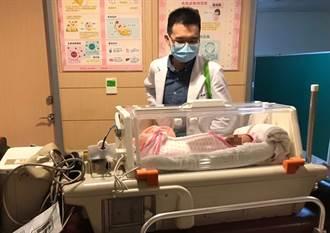 夜間生產大出血 動脈導管栓塞術成功救回四寶媽
