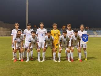 友誼賽備戰 中華女足1球負印度