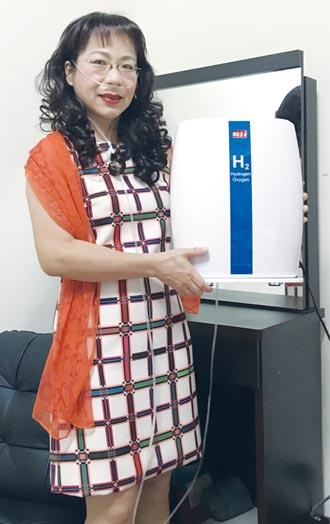 台灣美百氫氧機 醫療展亮相