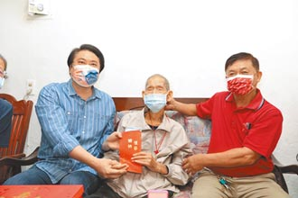 88位百歲人瑞 林右昌祝健康呷百二