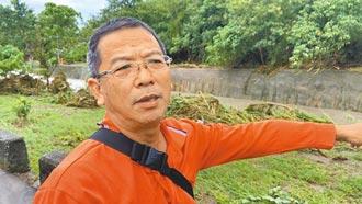 豪雨水稻農損逾3000萬 台東農民無奈