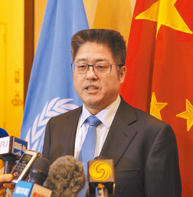 中國外交部副部長樂玉成。(中新社)