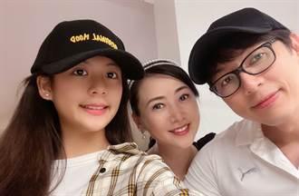 翁虹14歲愛女天仙美貌曝光 自嘲:更希望智商像爸爸