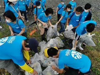 禮藍動保「全球使命日」赴蘇澳無尾港淨灘 還給動物一片淨土