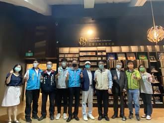 旅美華僑葉思雅夫婦捐上萬件黑膠、CD 許石音樂圖書館闢專區