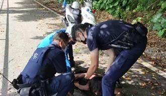 花蓮女子公園遇露鳥男 冷靜錄影助警逮人