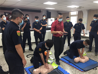 新北永和警急救訓練 「CPR +AED」掌握關鍵4分鐘