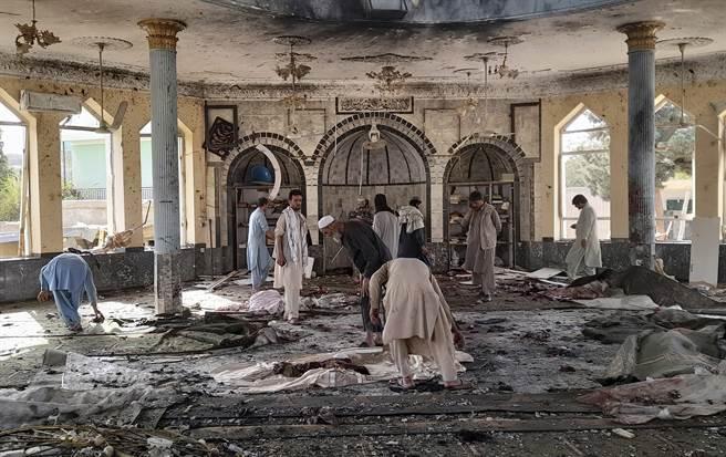 影》现场画面曝光 阿富汗清真寺又发生爆炸 近80人死伤