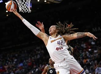 女將灌籃得分 WNBA總冠軍賽25年首見