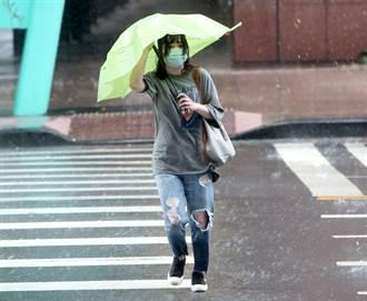 東北風來了 入夜轉涼雨勢升級 北北基等7縣市豪大雨特報