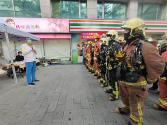 新北清查老舊住商混合高樓 加強消防搶救演練