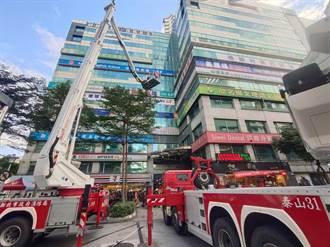 清查老舊住商混合高樓 新北消防強力執行消防搶救演練