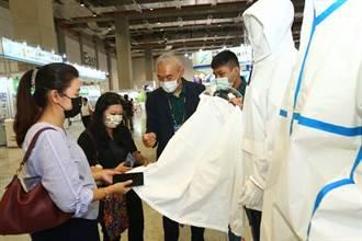 台灣國際醫療展閉幕 採購洽談會紡織廠商防護衣商機亮眼