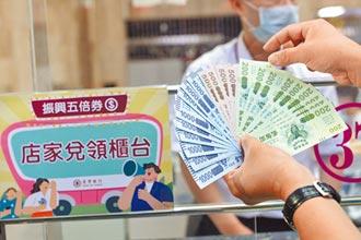 紙本五倍券 首日兌付26億