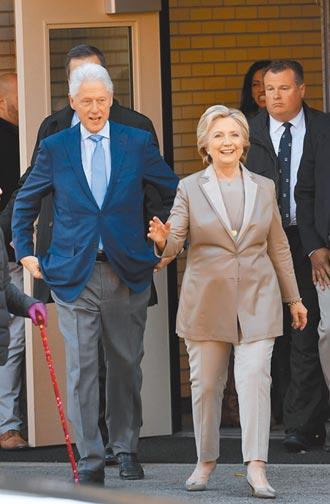 疑血液感染 美前總統柯林頓進加護病房