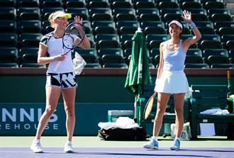 印地安泉網賽女雙決賽  謝淑薇攜手梅丹斯封后