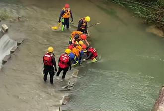 尋虎豹潭失蹤4人 上午再出動256人地毯式搜救