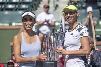 網球》謝淑薇4度獲年終賽資格 開心高喊:我們來啦
