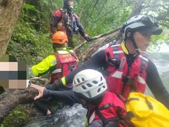 虎豹潭又尋獲11歲男童遺體 卡六和橋下撈起 1大2小仍失聯