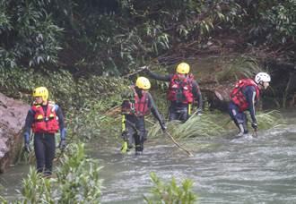 虎豹潭再尋獲1男子遺體 累計4死 2學童失蹤