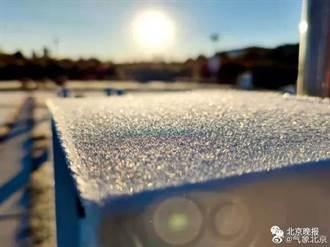 北京今晨氣溫跌破0℃ 創52年以來同期最低紀錄