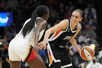美國女籃第一人 「白曼巴」獲選史上最偉大球星