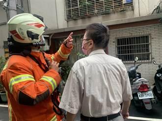 桃園消防今辦搶救演練 狹巷窄小須靠電動器材輔助