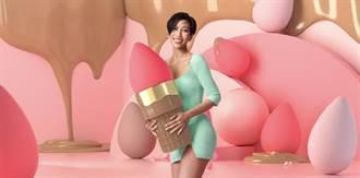 網紅莫莉為美妝蛋beautyblender站台 粉色風暴席捲周慶