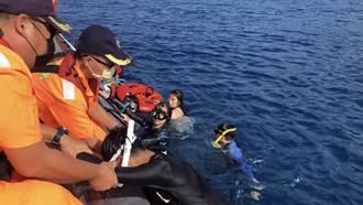 小琉球浮潛 8人體力不支漂走 海巡警艇一一拉起獲救