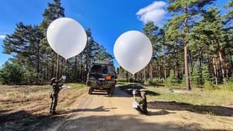 德國進行心戰空飄氣球相關訓練