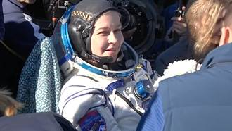 首部實景太空電影拍攝結束 俄國導演與女星返回地球