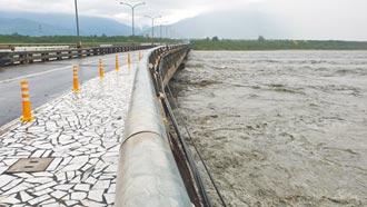 3天下完半年雨量 花蓮安檢20橋梁